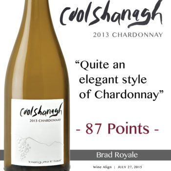 Coolshanagh-2013Chardonnay_WineAlign_BradRoyale_July27,15